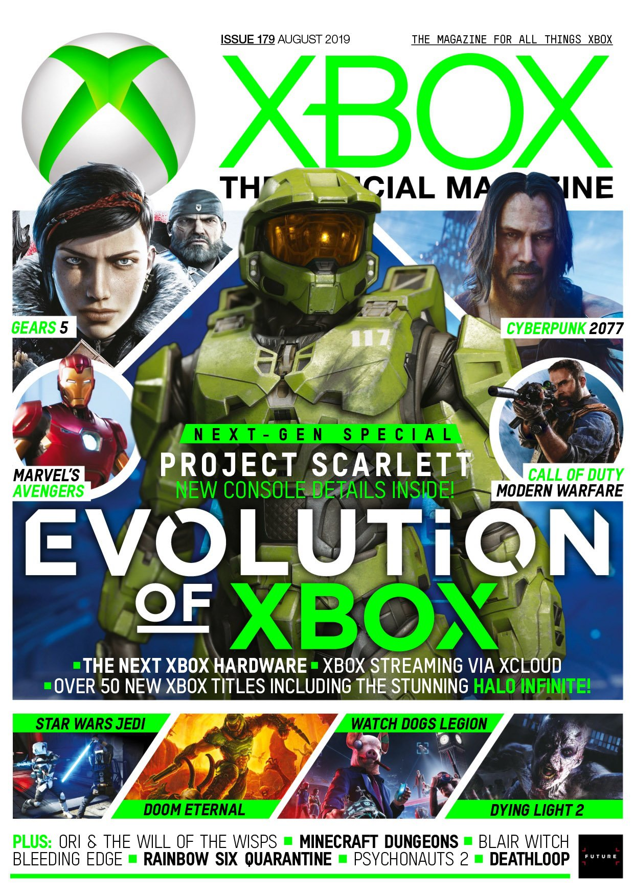 XBOX The Official Magazine Issue 179 (August 2019)