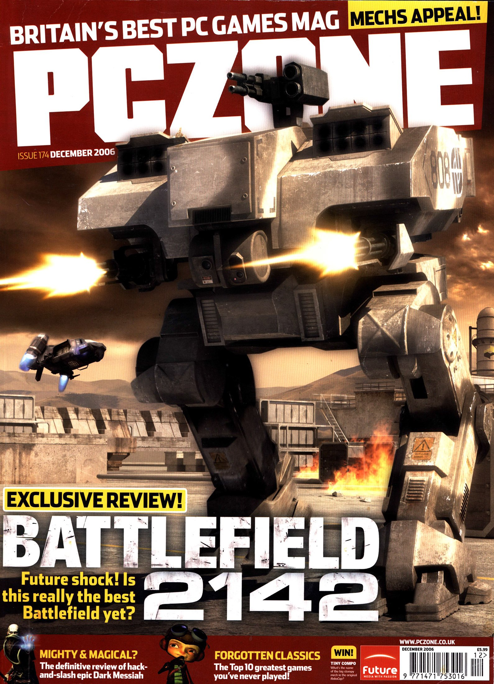 PC Zone Issue 174 (December 2006)