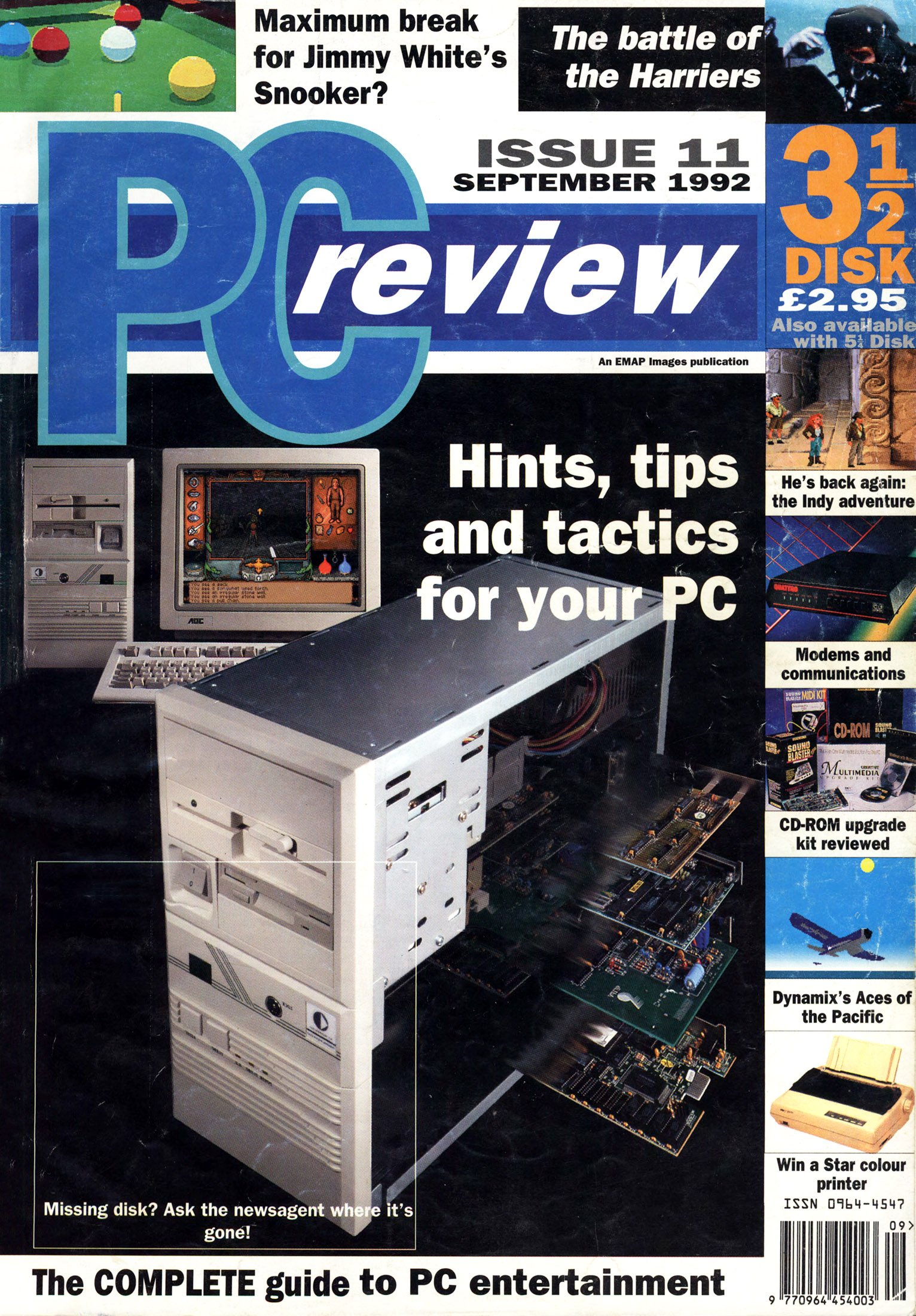 PC Review Issue 11 (September 1992)