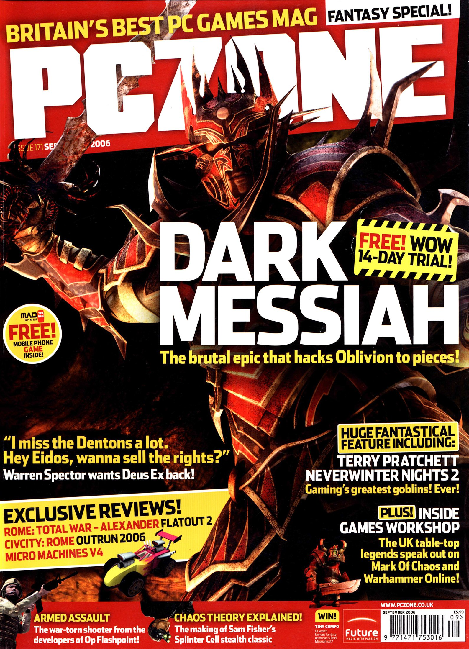 PC Zone Issue 171 (September 2006)