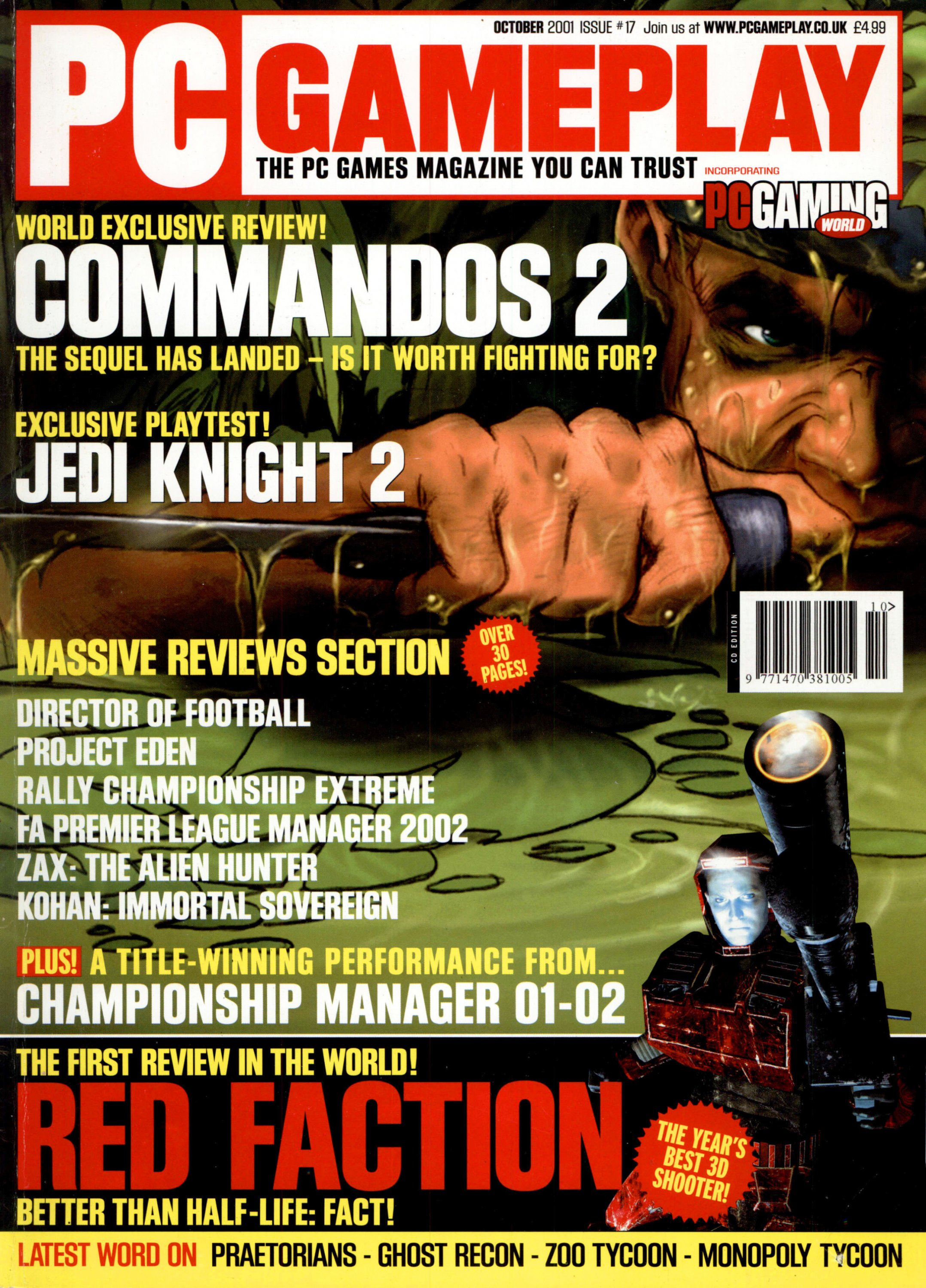 PC Gameplay Issue 17 (October 2001)