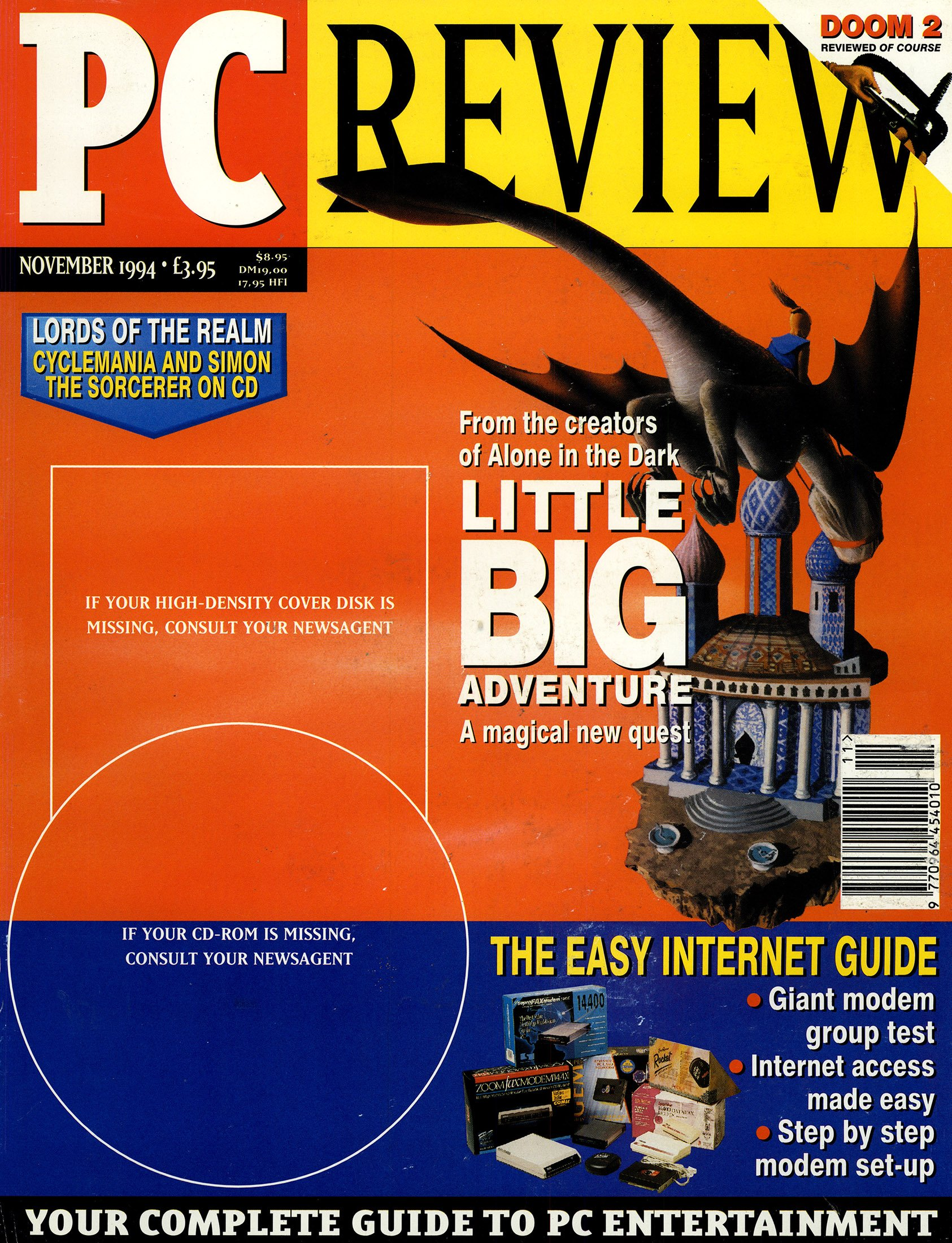 PC Review Issue 37 (November 1994)