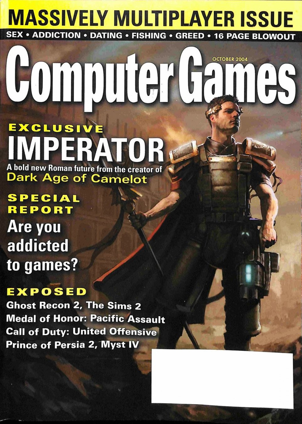 Computer Games Issue 167 (October 2004)