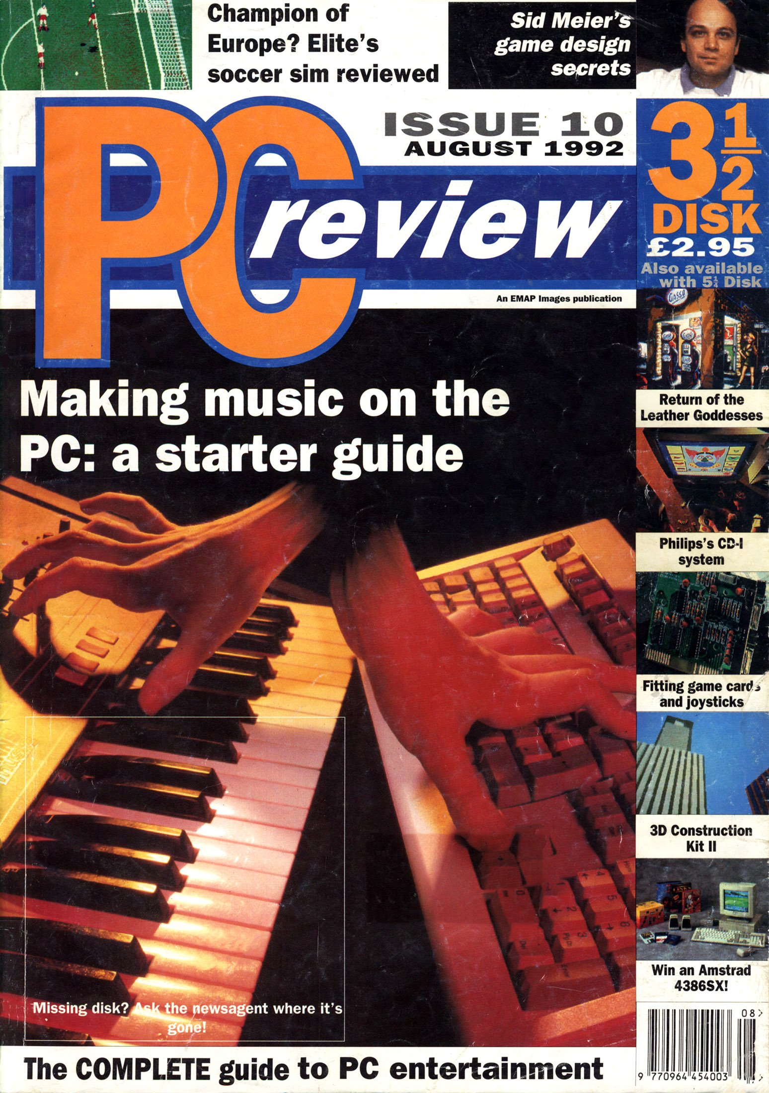PC Review Issue 10 (August 1992)