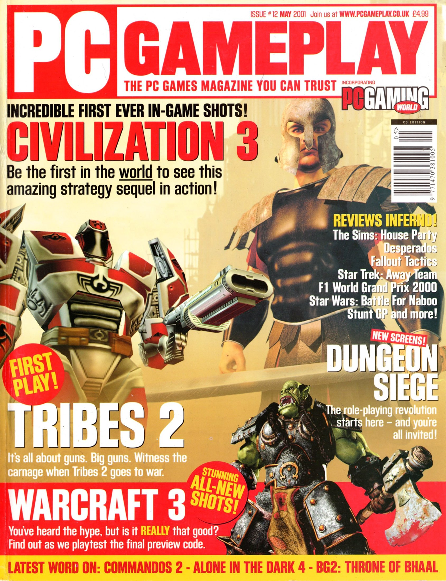PC Gameplay Issue 12 (May 2001)