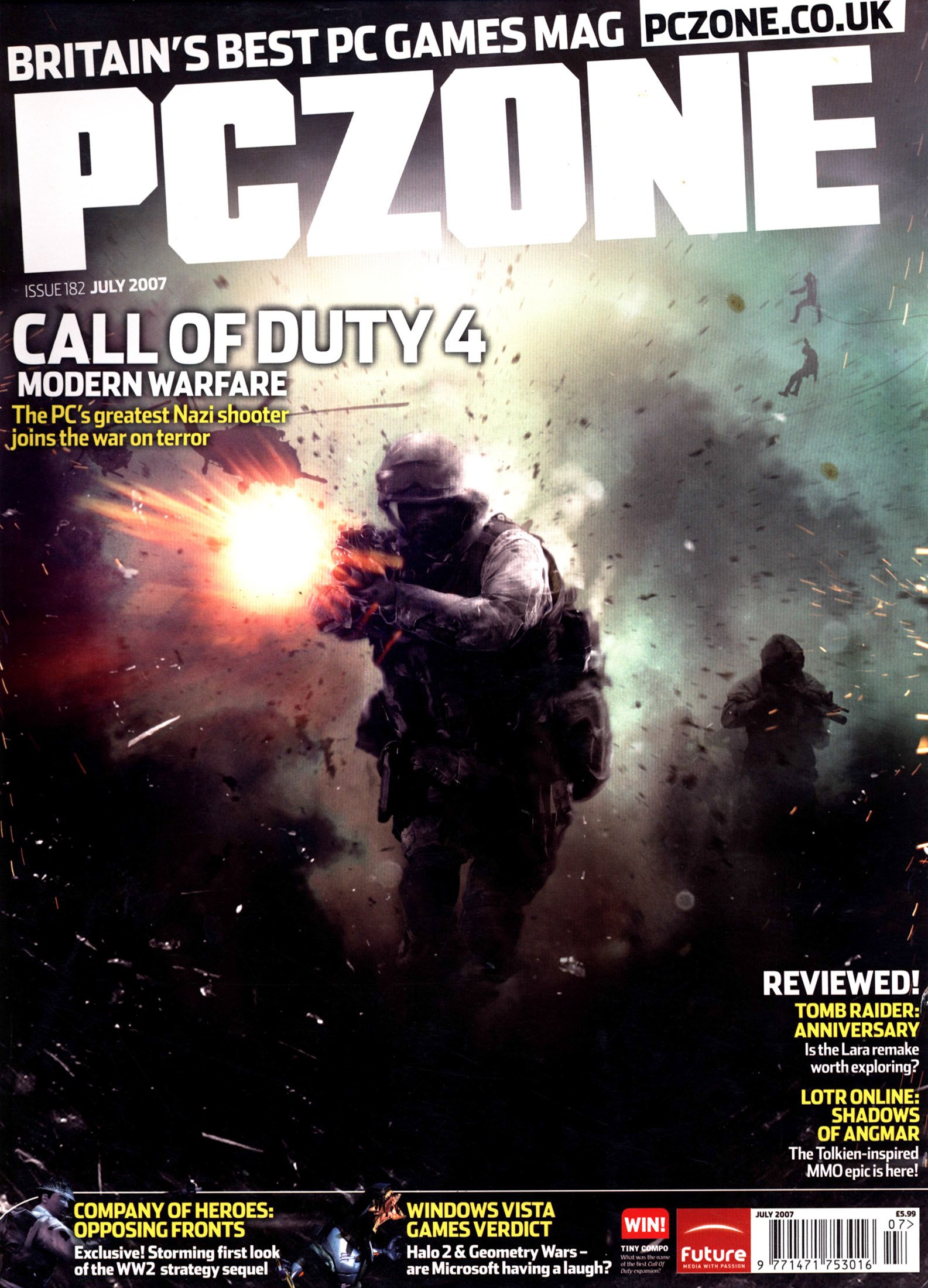 PC Zone Issue 182 (July 2007)