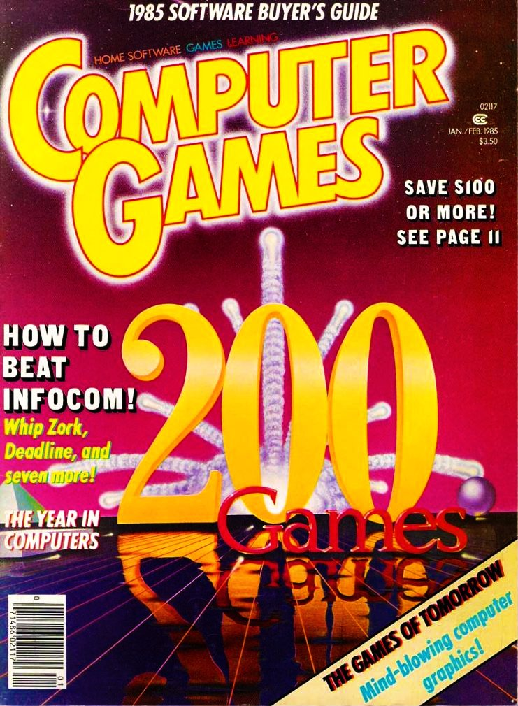 Computer Games Issue 010 (January / February 1985)