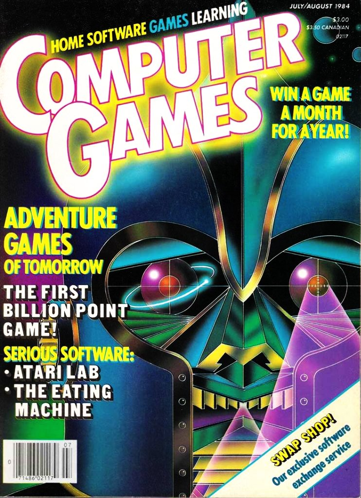 Computer Games Issue 008 (July / August 1984)