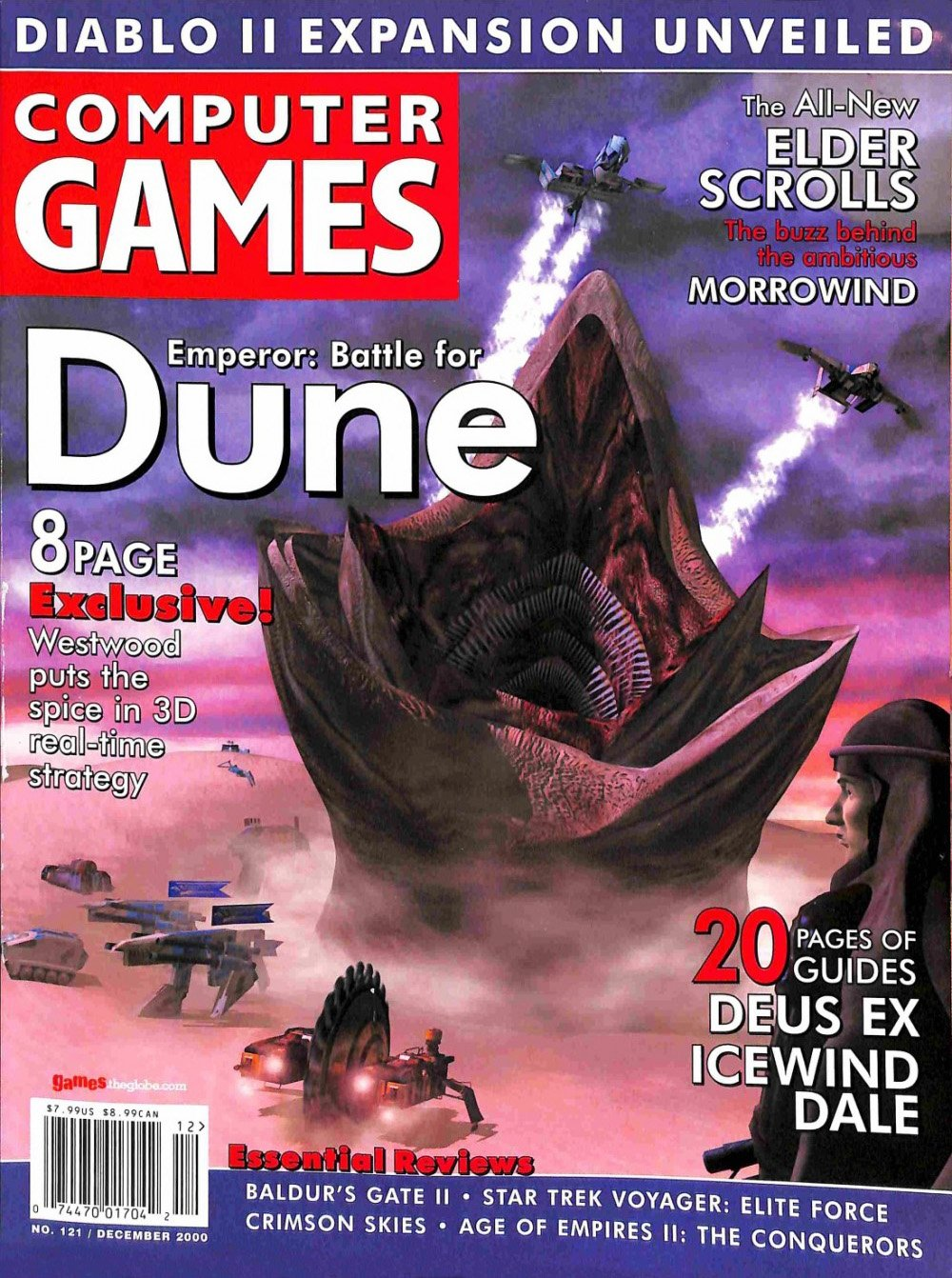 Computer Games Issue 121 (December 2000) *alternate cover*