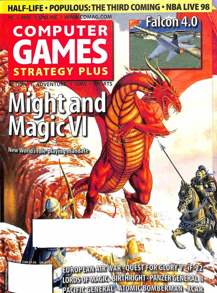 Computer Games Strategy Plus Issue 084 (November 1997)