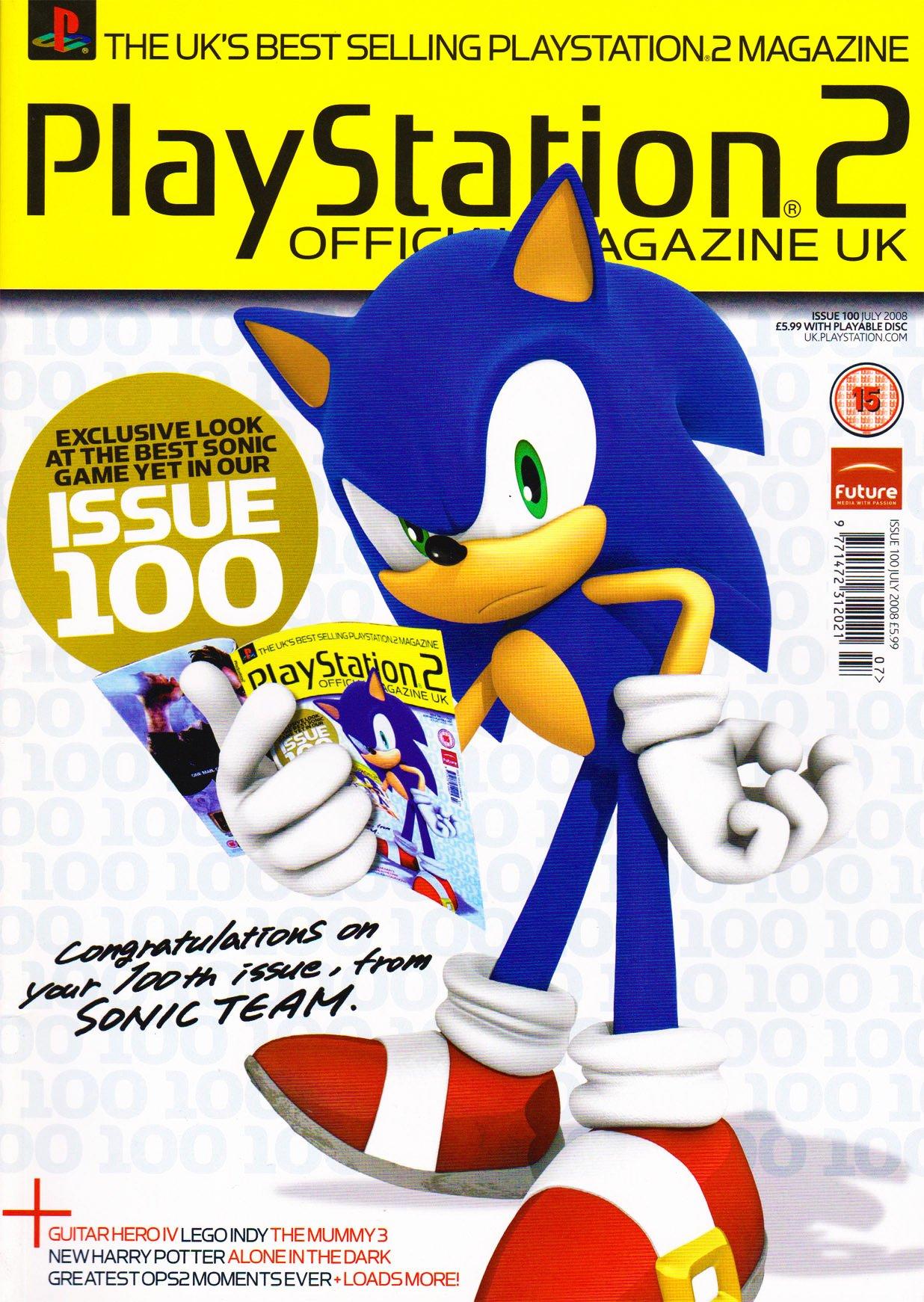 Official Playstation 2 Magazine UK 100 (July 2008)