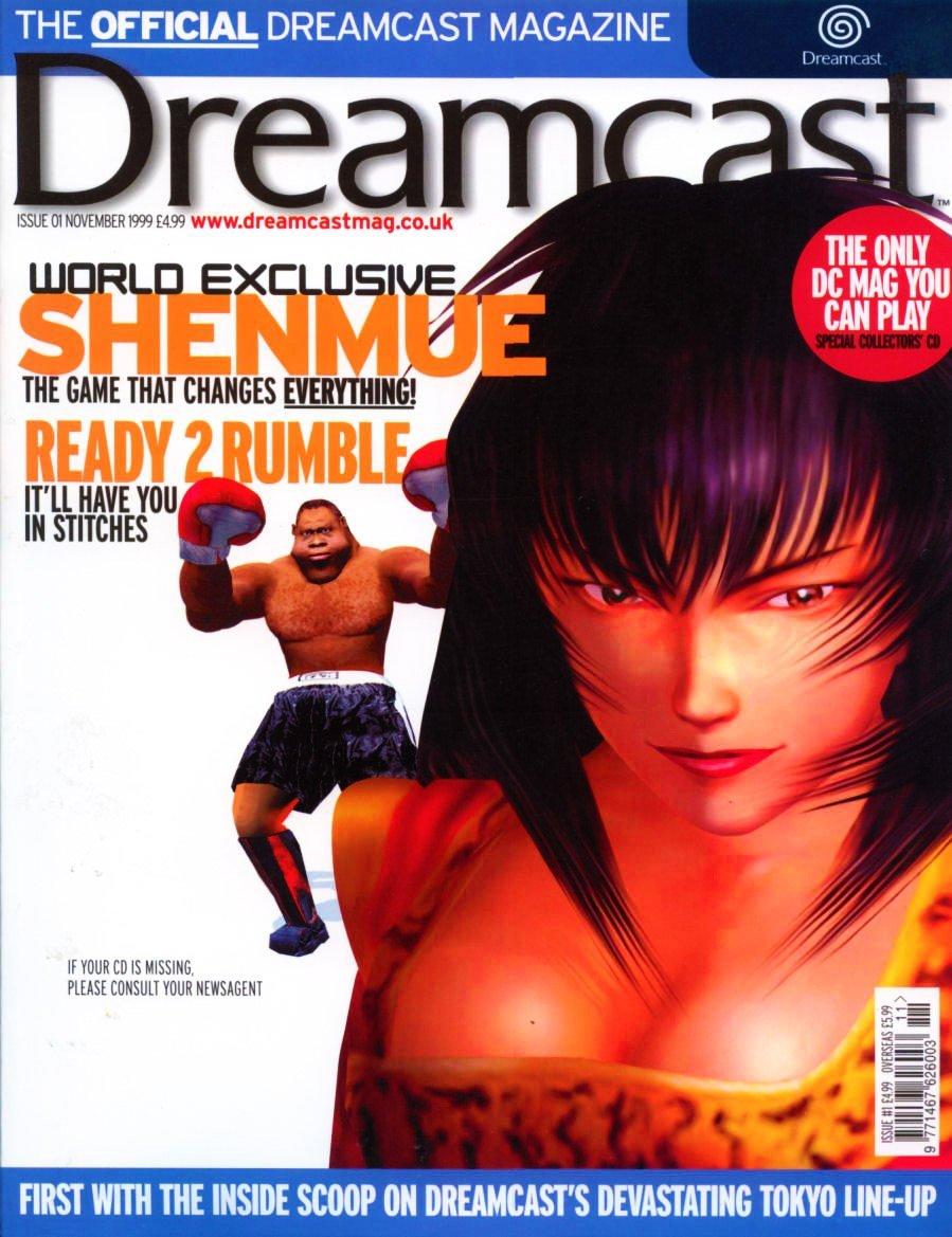 Official Dreamcast Magazine 01 (November 1999)