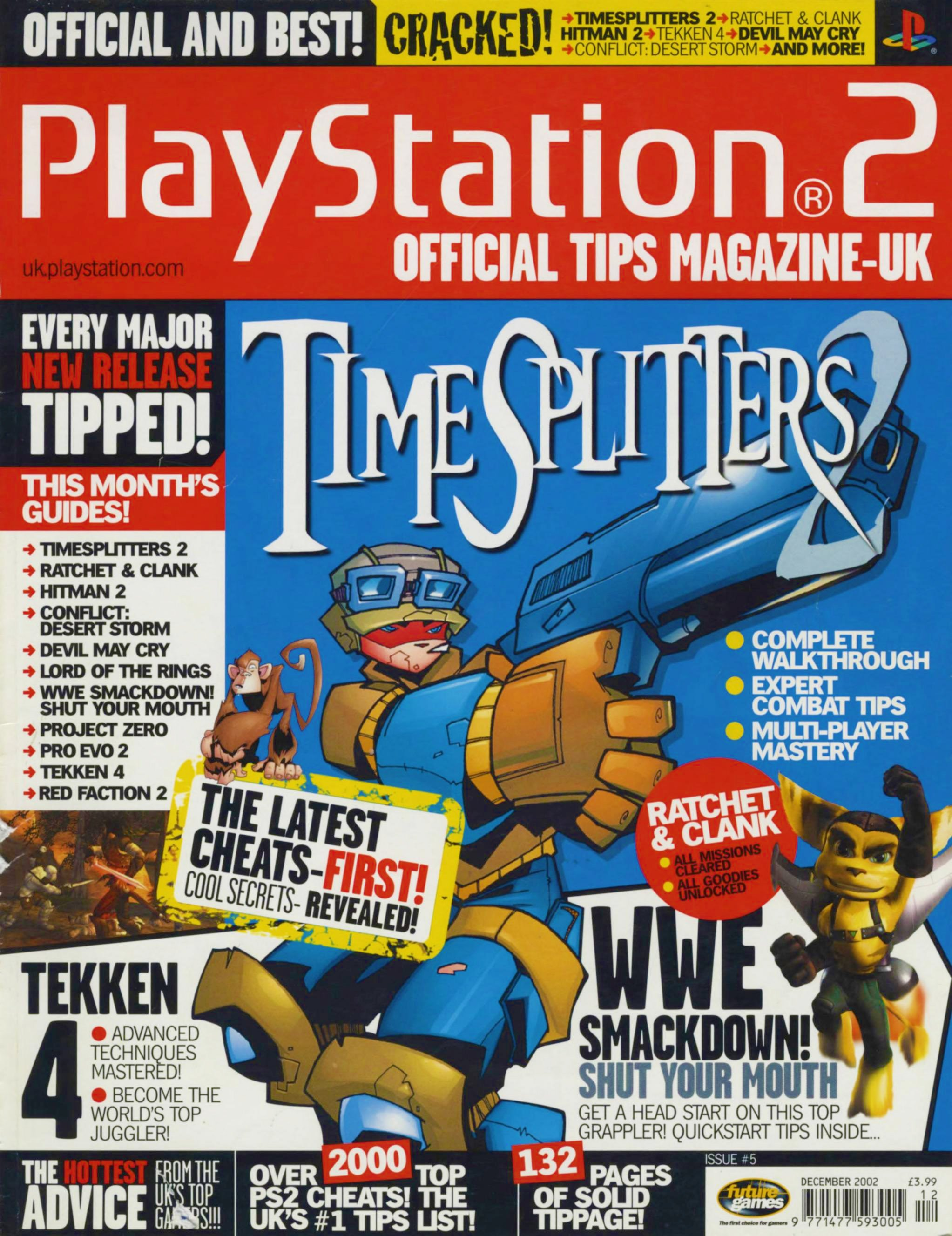 PS2 Official Tips Magazine 005 (December 2002)