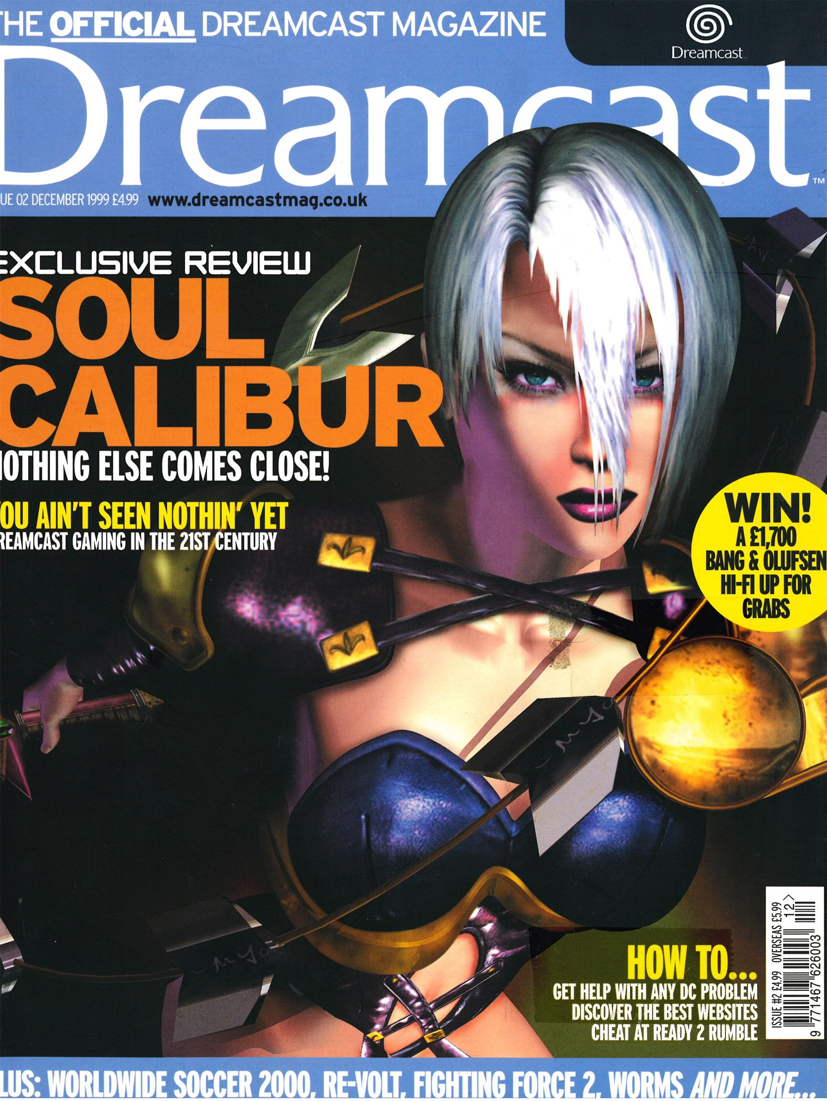 Official Dreamcast Magazine 02 (December 1999)