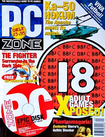 PC Zone Issue 018 (September 1994)