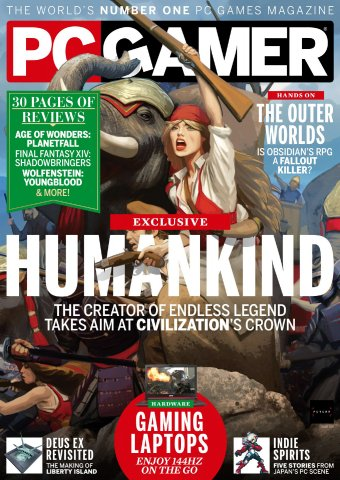 PC Gamer UK 335 (October 2019)