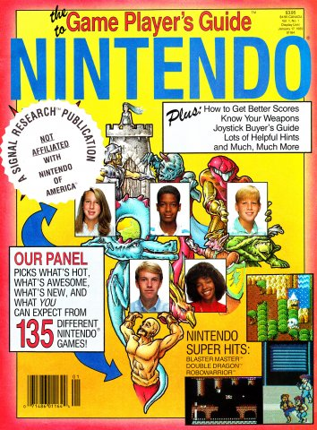Game Player's Nintendo Buyer's Guide Vol.1 No.1a (June 1988) Alternate Cover