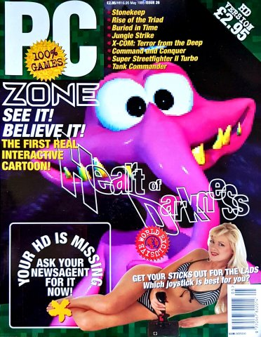 PC Zone Issue 026 (May 1995)