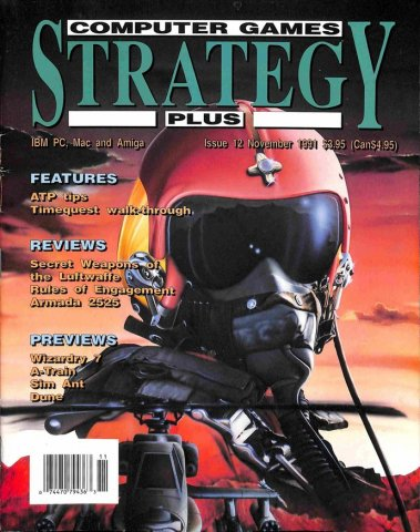 Computer Games Strategy Plus Issue 012 (November 1991) (USA edition)