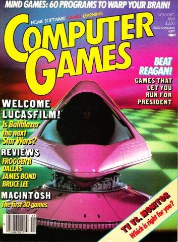 Computer Games Issue 009 (November / December 1984)