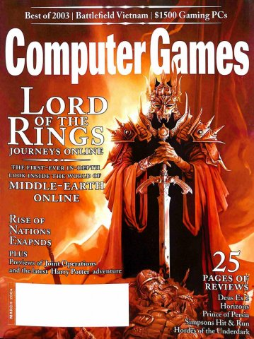 Computer Games Issue 160 (March 2004) (subscriber edition)