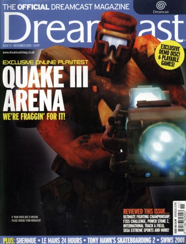 Official Dreamcast Magazine 13 (November 2000)