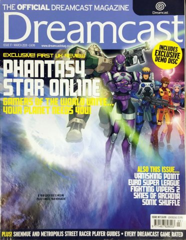 Official Dreamcast Magazine 17 (March 2001)