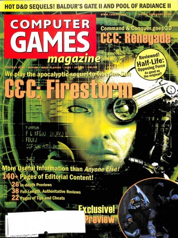 Computer Games Magazine Issue 111 (February 2000)