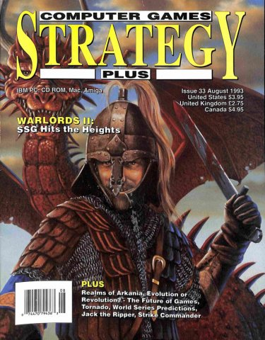 Computer Games Strategy Plus Issue 033 (August 1993)