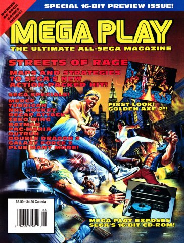 Mega Play Vol.2 No.4 July-August 1991