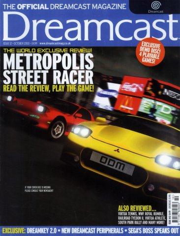 Official Dreamcast Magazine 12 (October 2000)