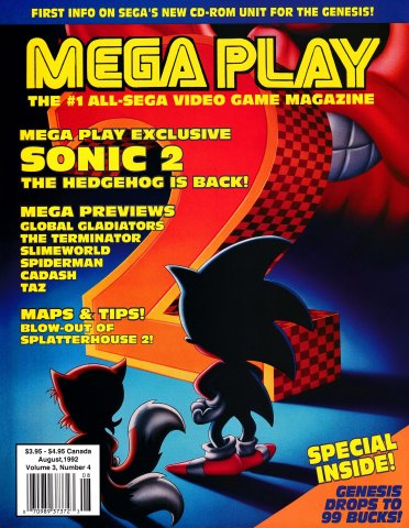 Mega Play Vol.3 No.4 July/August 1992