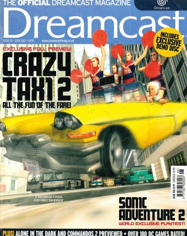 Official Dreamcast Magazine 20 (June 2001)