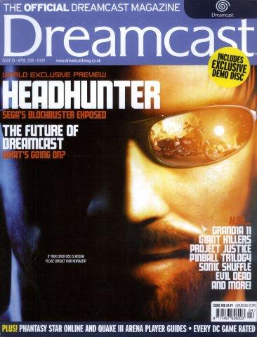 Official Dreamcast Magazine 18 (April 2001)