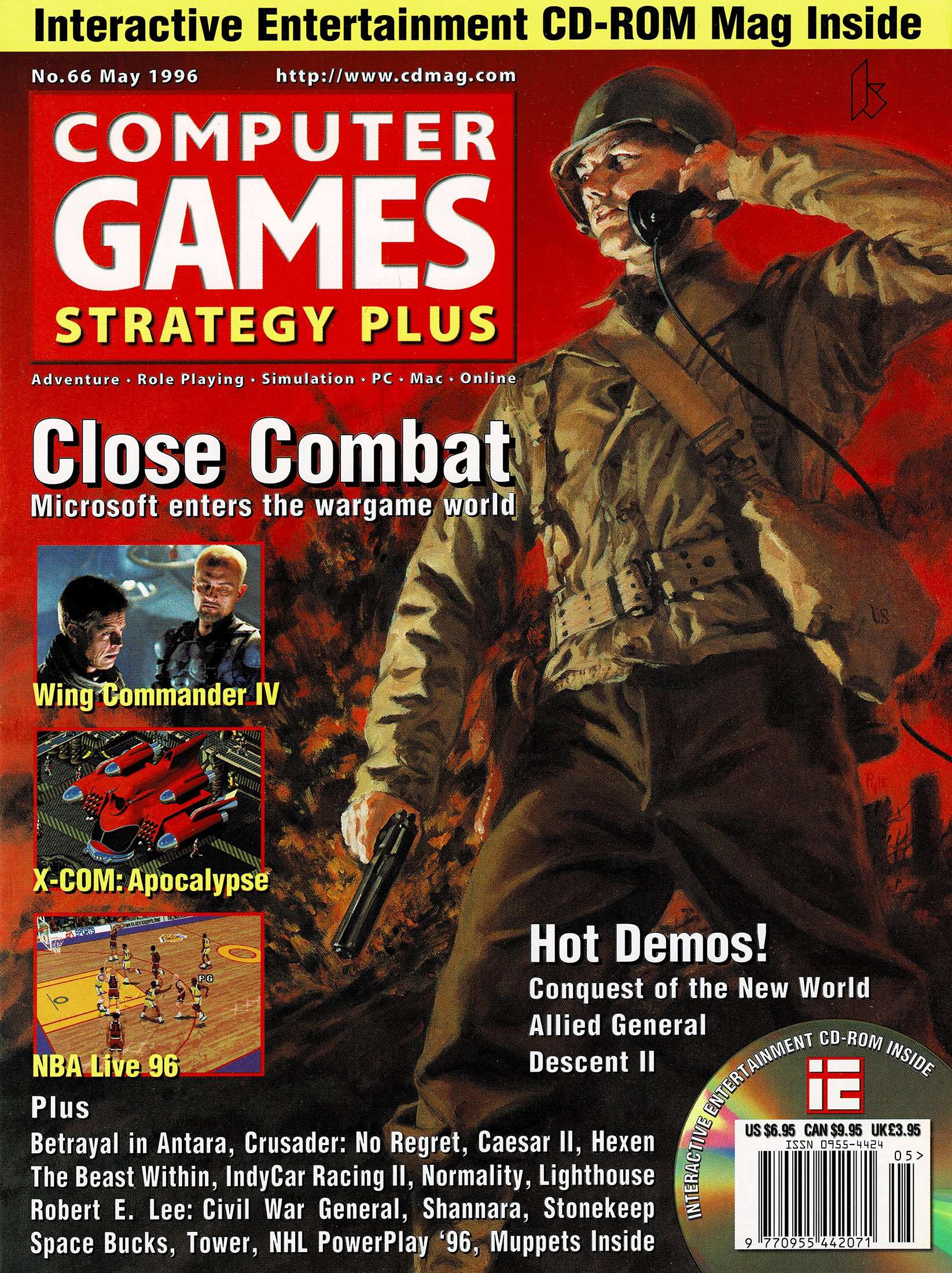 Computer Games Strategy Plus Issue 066 (May 1996)