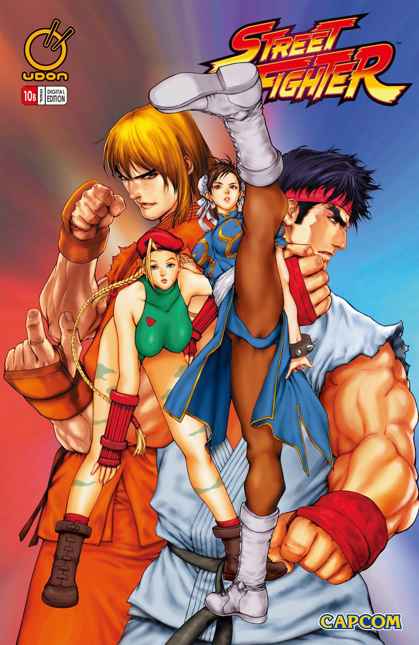 Street Fighter Vol.1 010 (September 2004) (cover b)