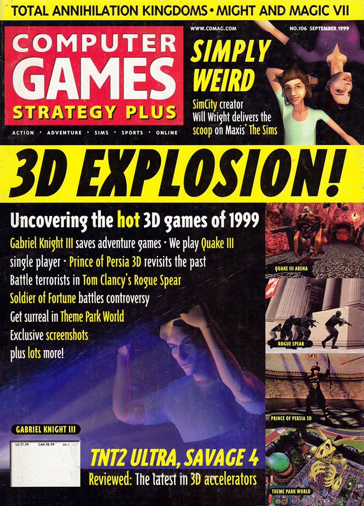 Computer Games Strategy Plus Issue 106 (September 1999)