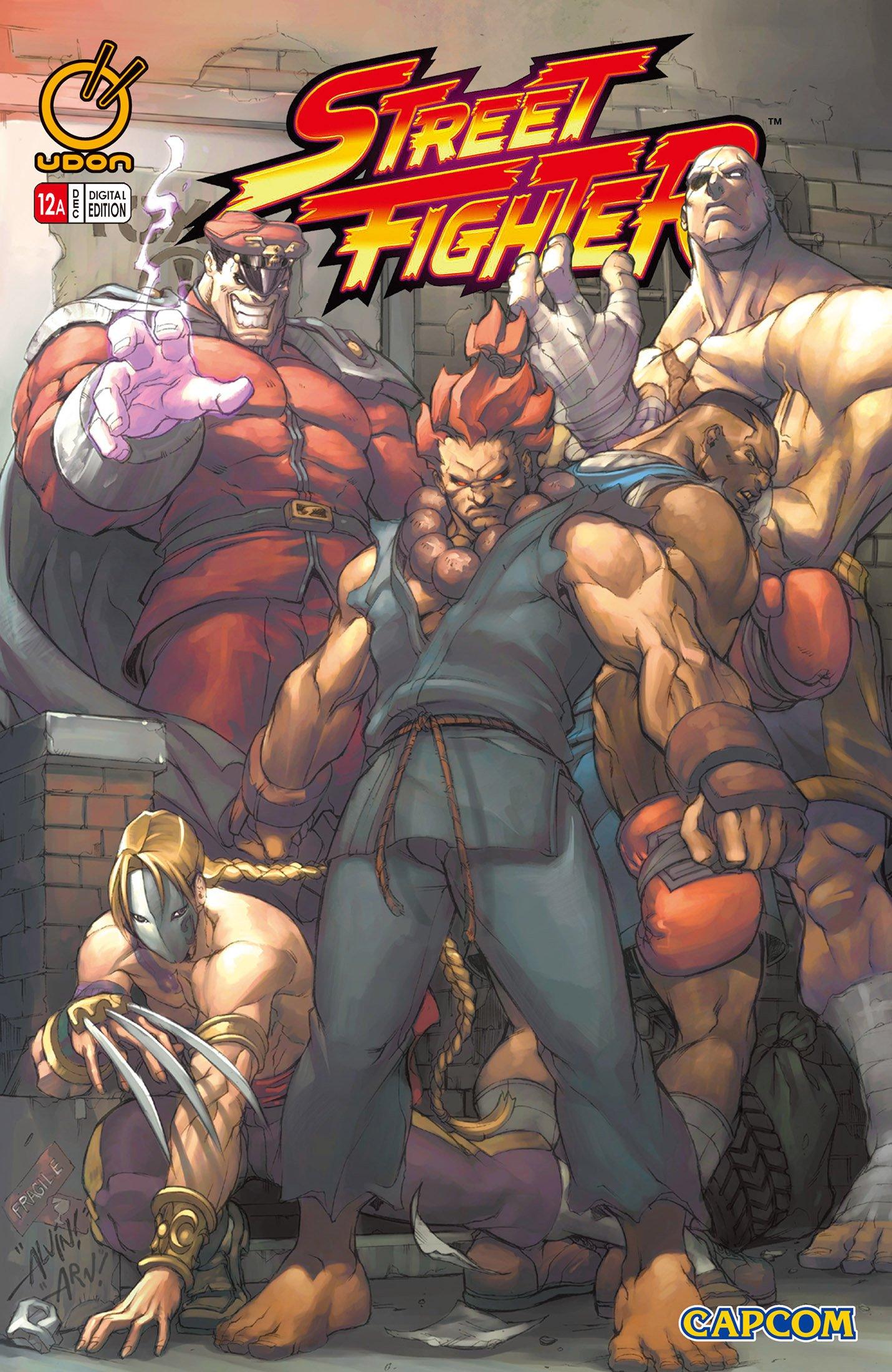 Street Fighter Vol.1 012 (December 2004) (cover a)