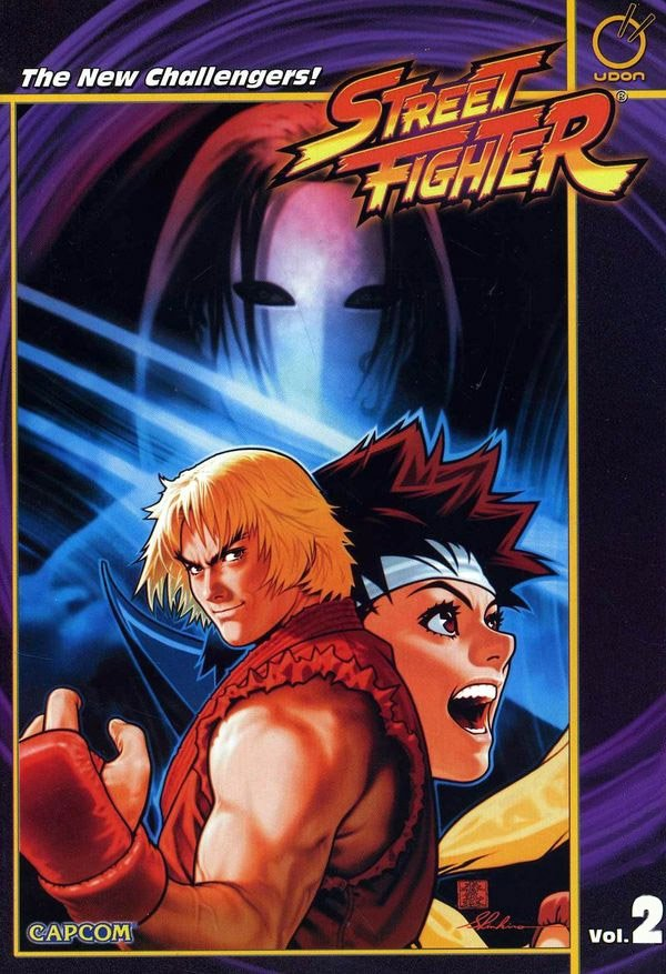 Street Fighter TPB Vol.2 The New Challengers!