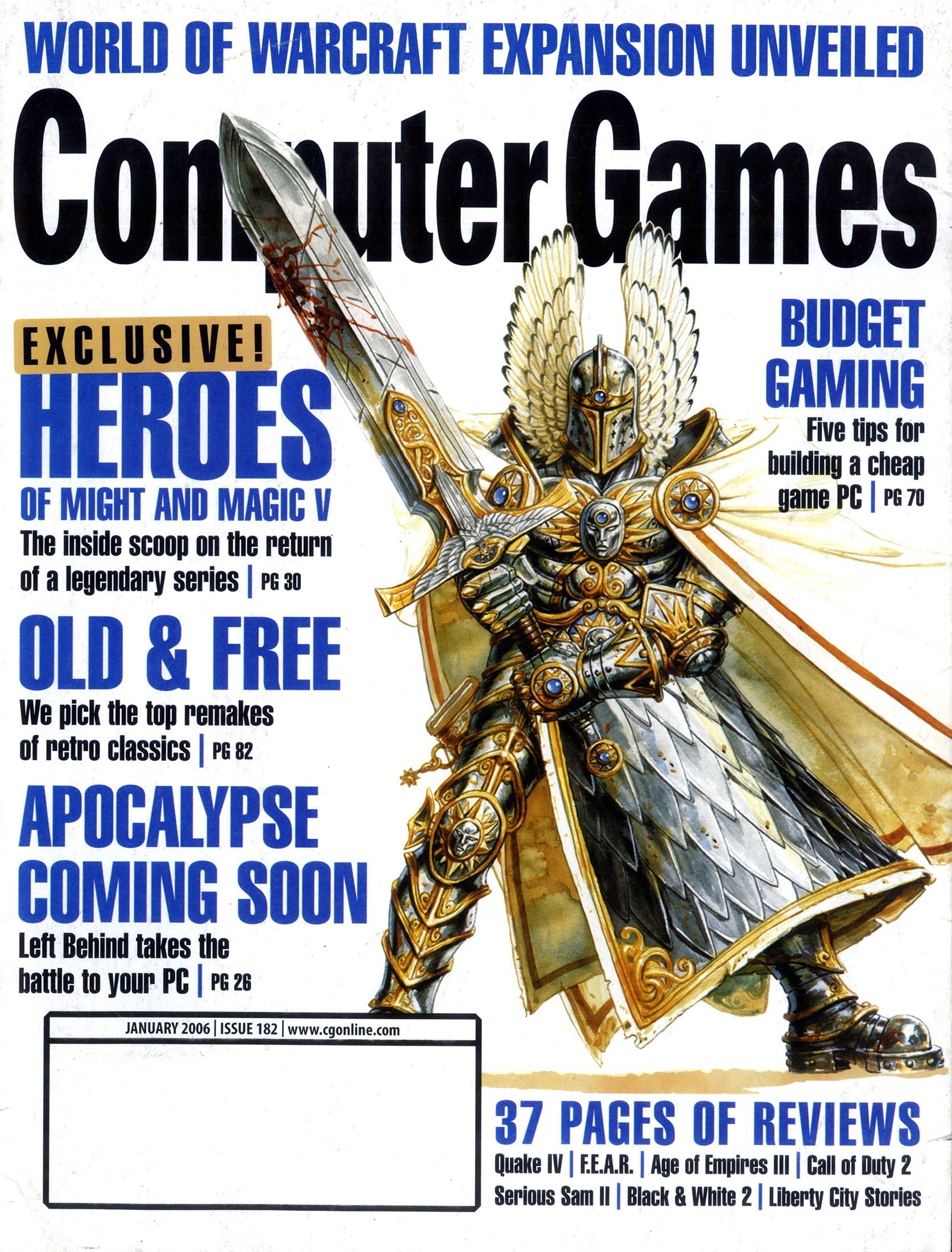 Computer Games Issue 182 (January 2006)