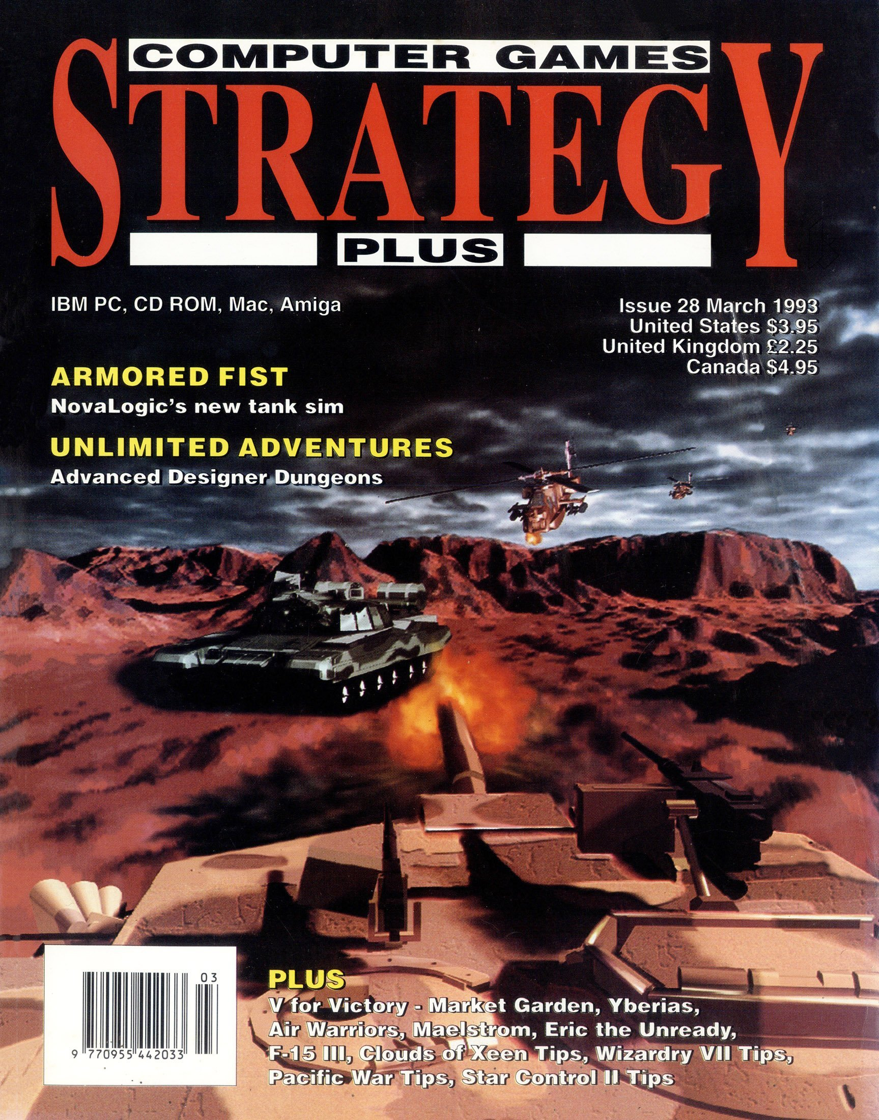 Computer Games Strategy Plus Issue 028 (March 1993)