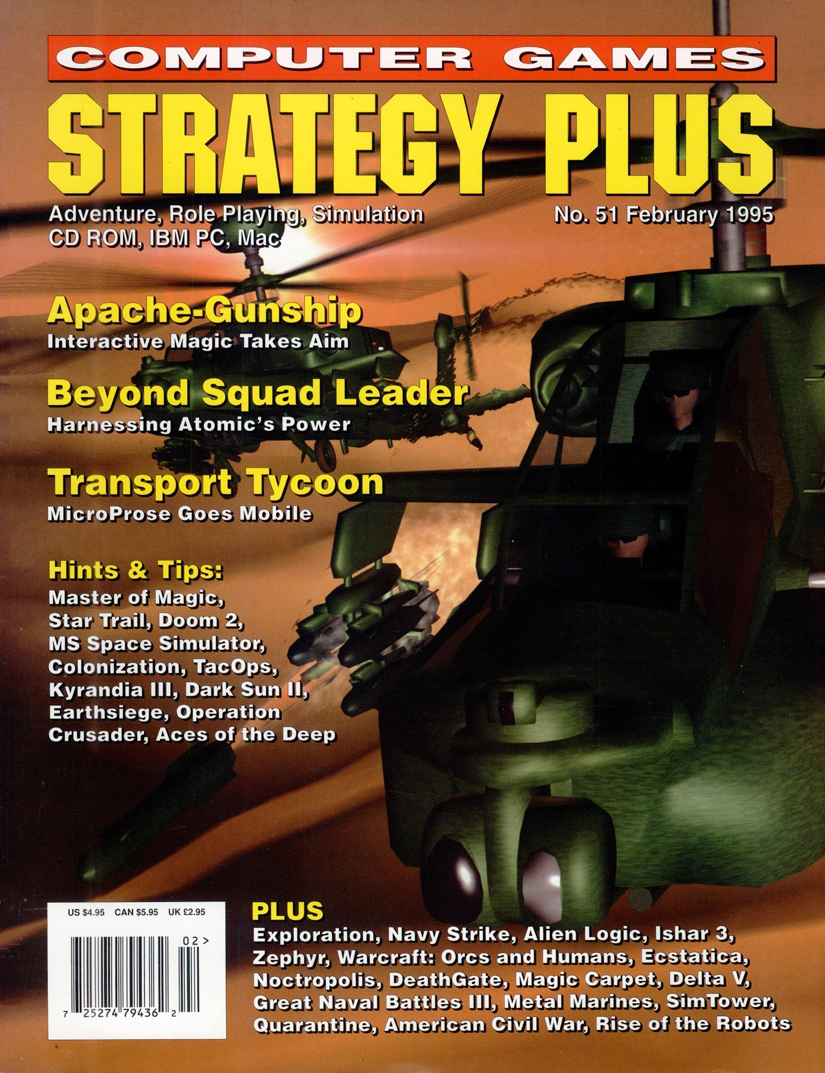 Computer Games Strategy Plus Issue 051 (February 1995)