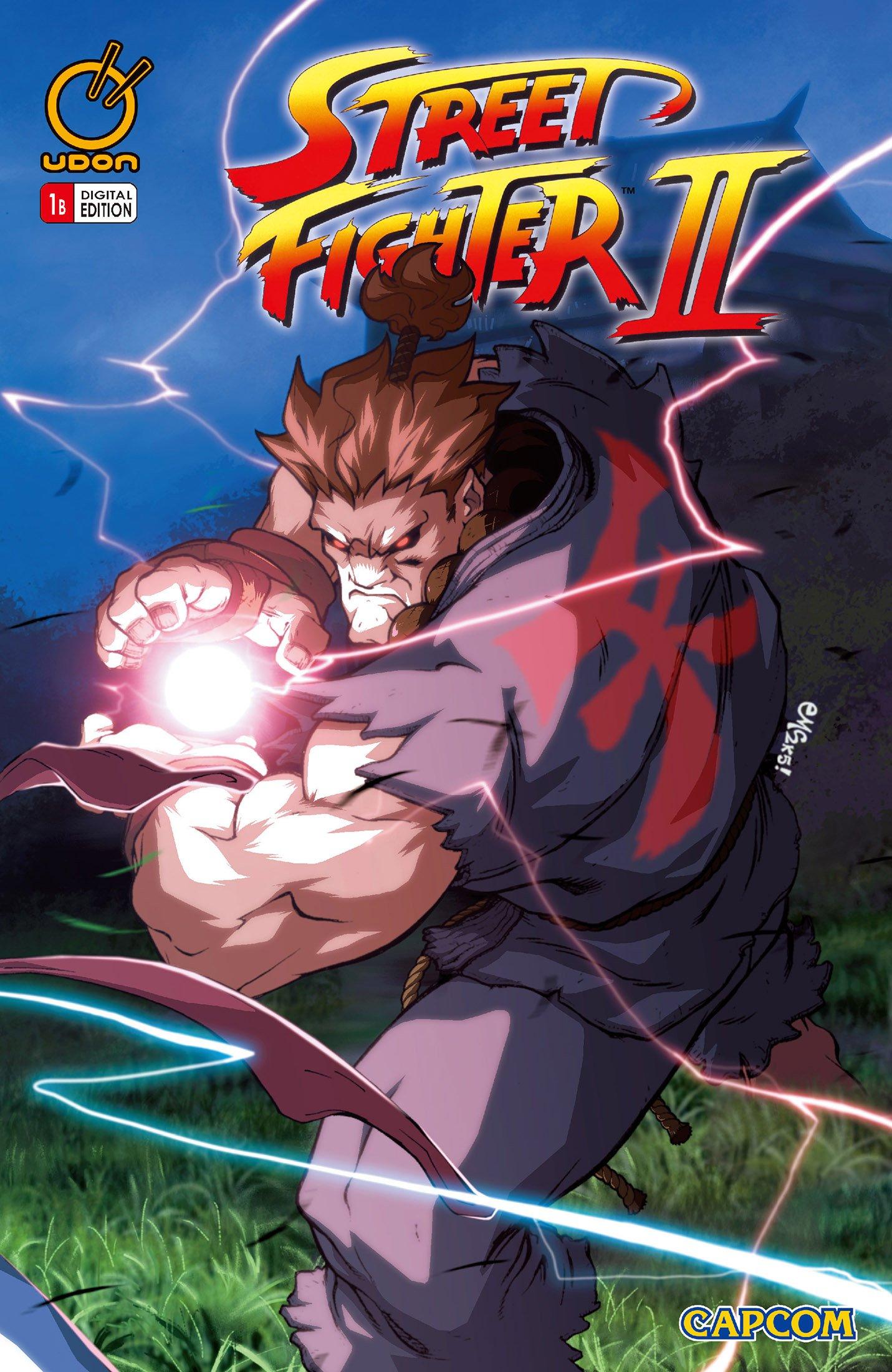 Street Fighter II Issue 1 (November 2005) (cover b)