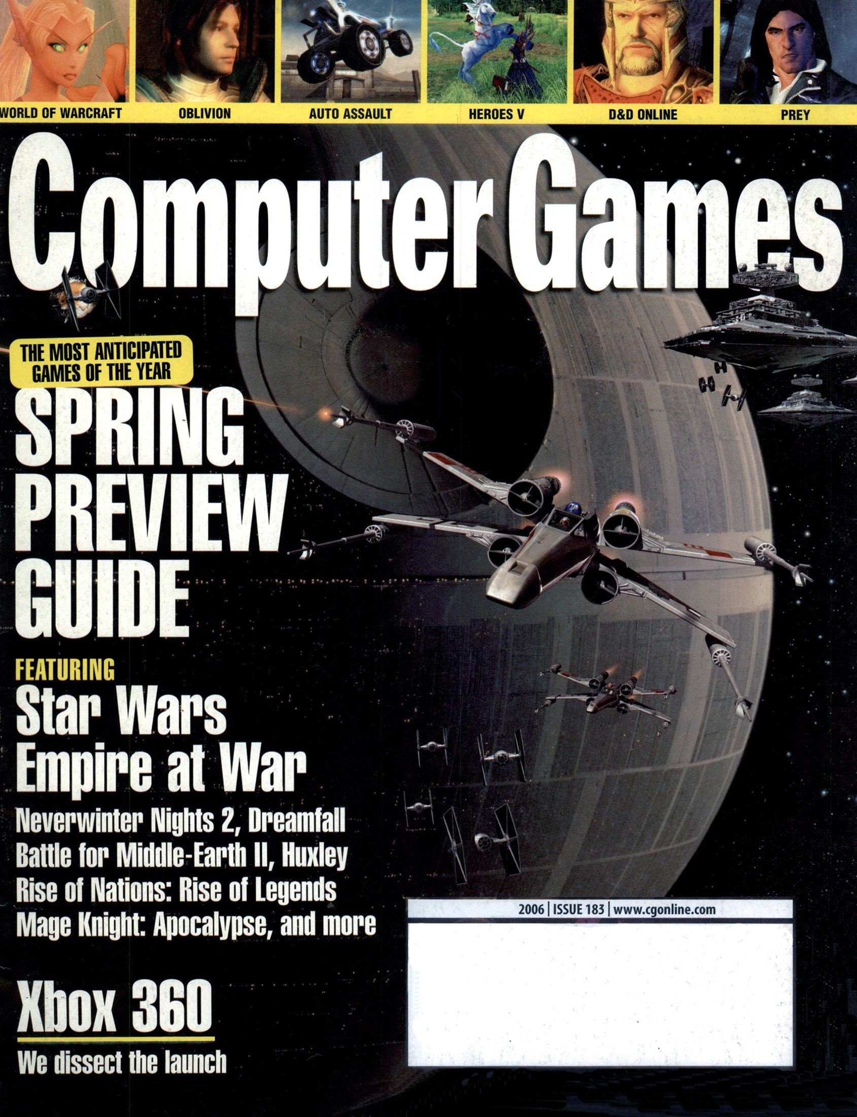 Computer Games Issue 183 (February 2006)