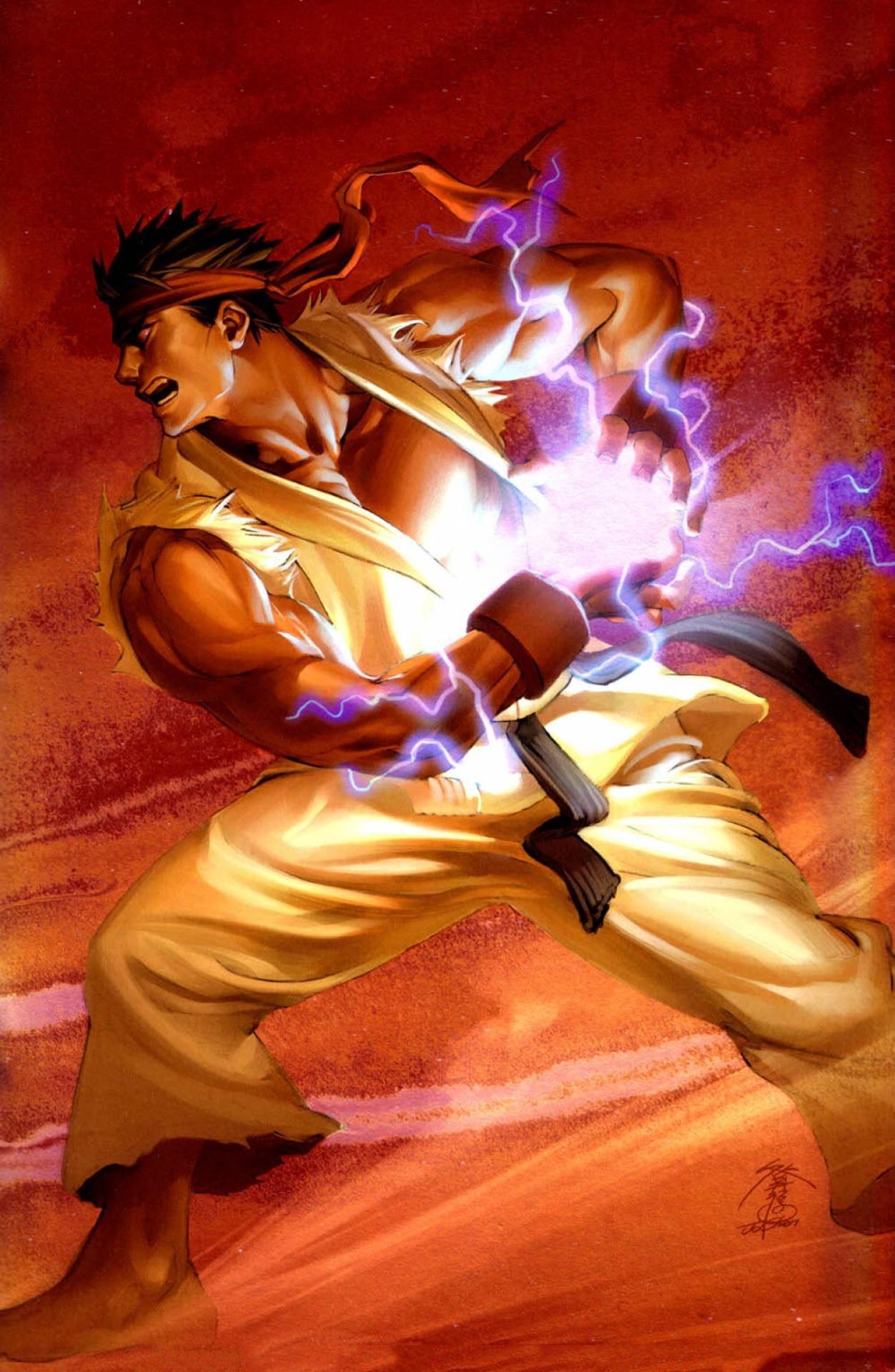 Street Fighter Vol.1 007 (April 2004) (Jo Chen Power Foil variant)