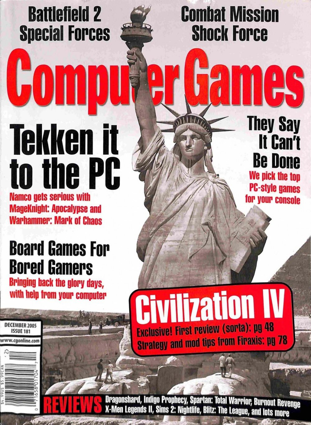 Computer Games Issue 181 (December 2005)