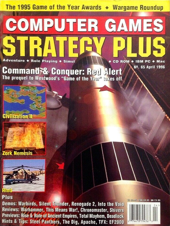 Computer Games Strategy Plus Issue 065 (April 1996)