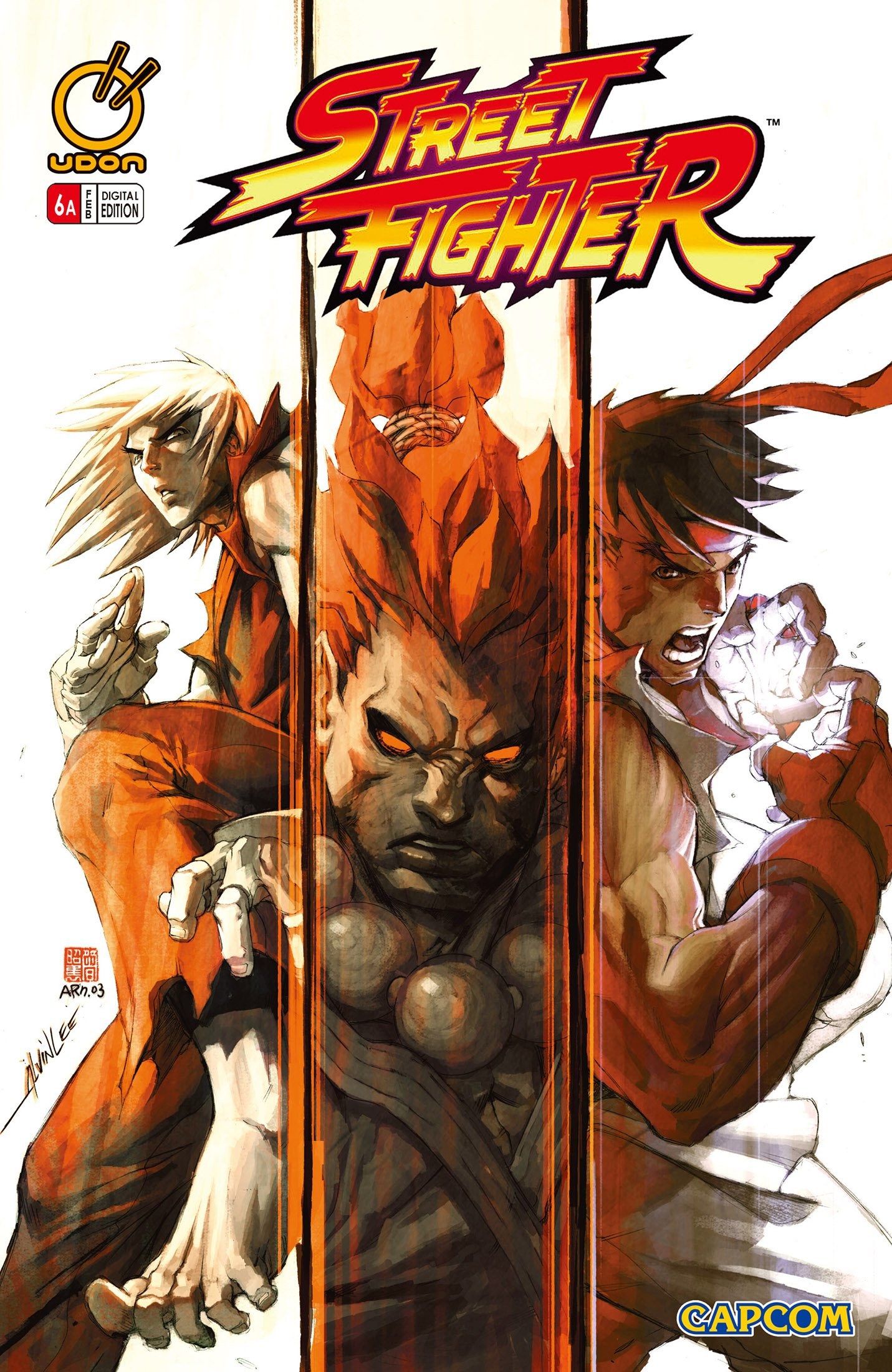Street Fighter Vol.1 006 (February 2004) (cover a)