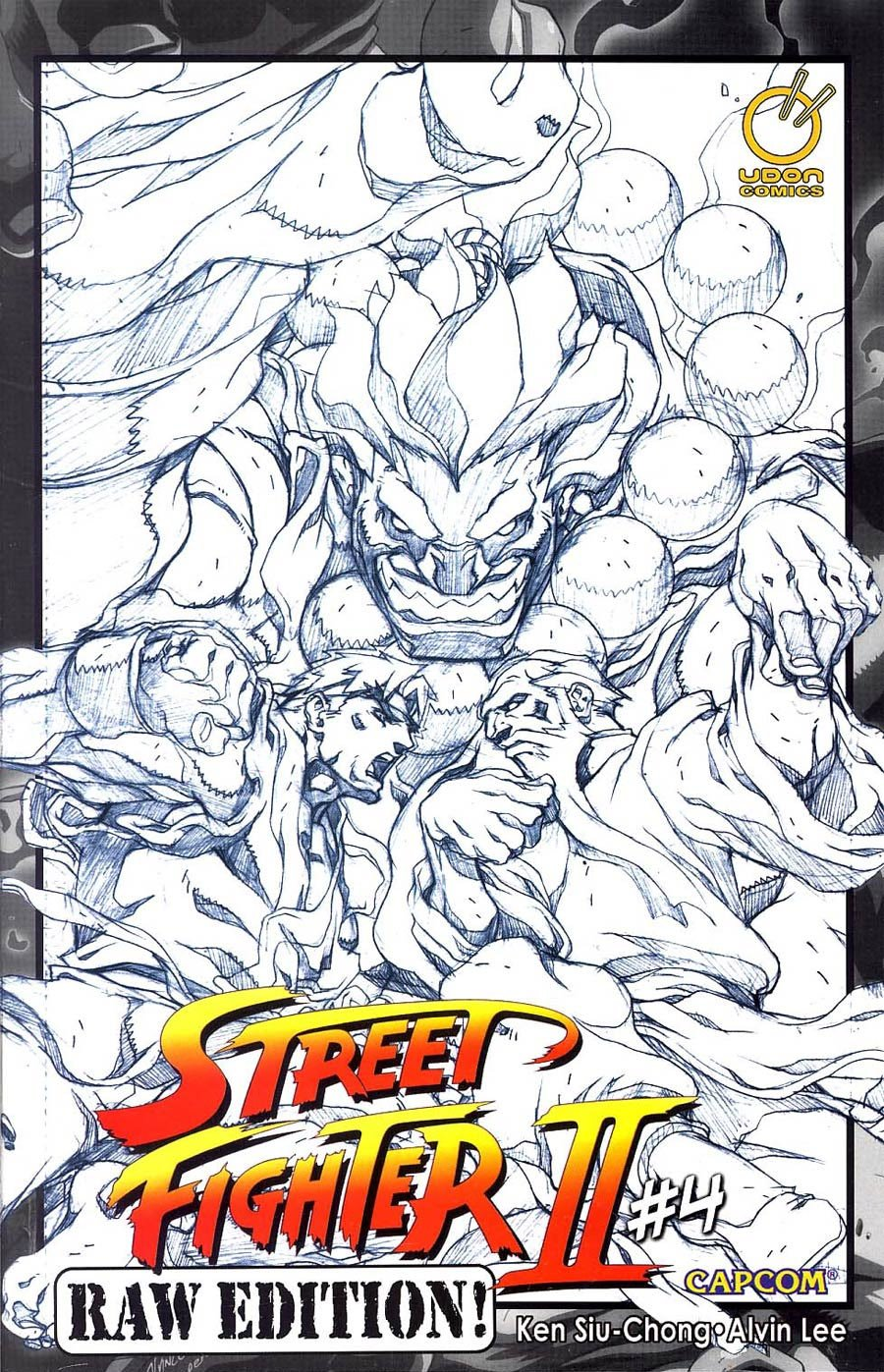Street Fighter II Issue 4 (May 2006) (Raw Edition)