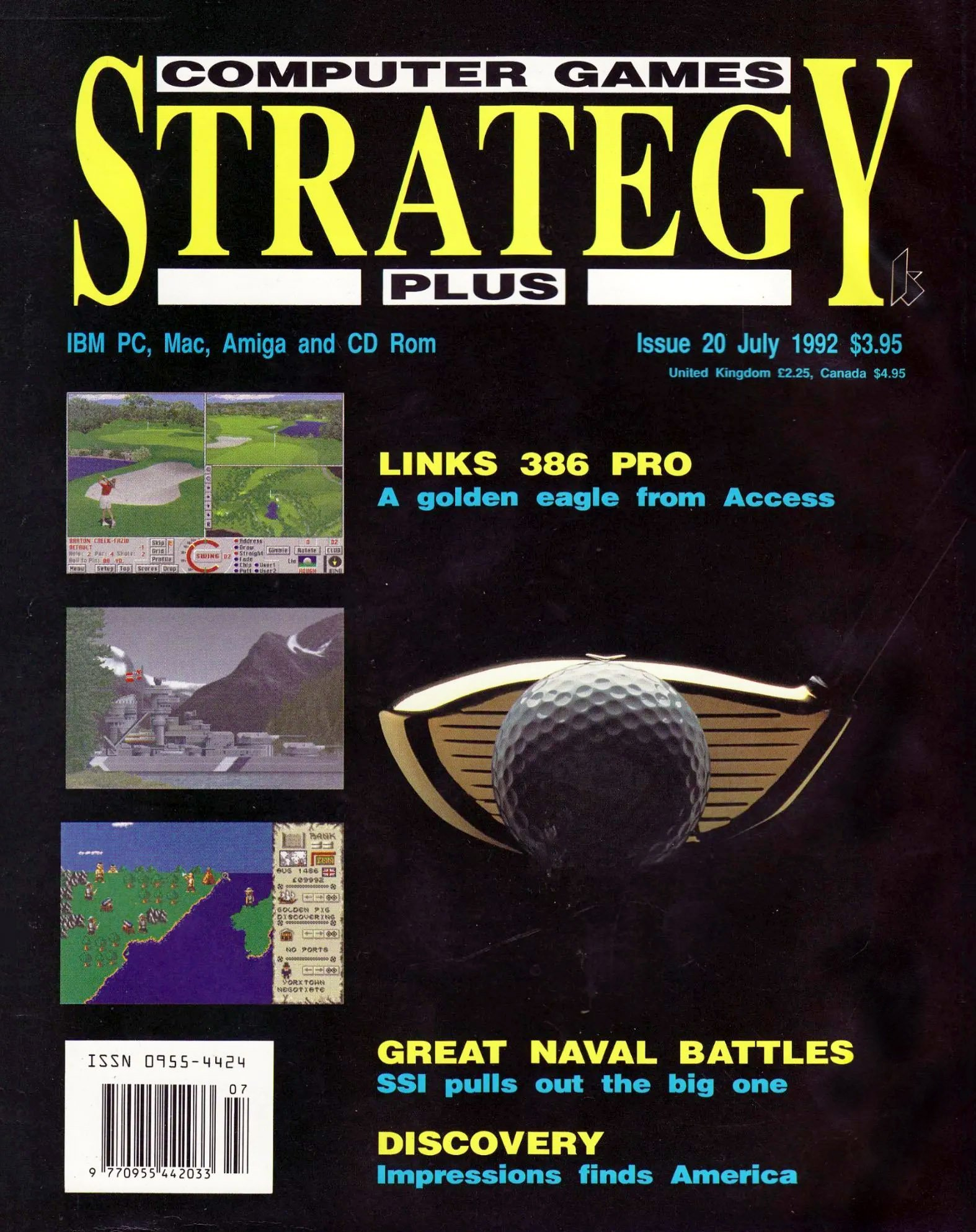 Computer Games Strategy Plus Issue 020 (July 1992)